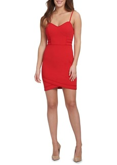 Guess Crepe Scuba Bodycon Dress