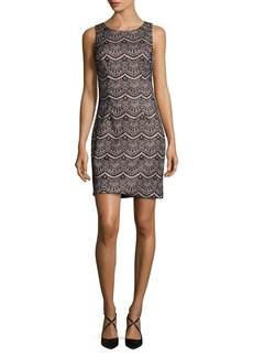 Guess Crewneck Sheath Dress