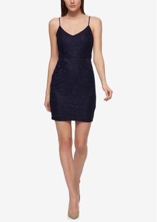 Guess Crochet Lace Slip Dress
