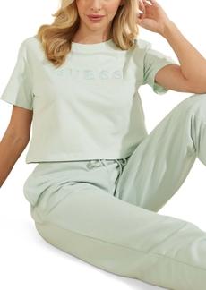 Guess Crop Basic Logo T-Shirt