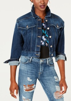 Guess Cropped Denim Jacket