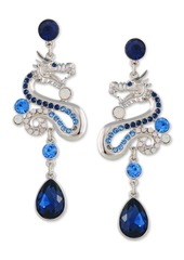 Guess Crystal Dragon Drop Earrings