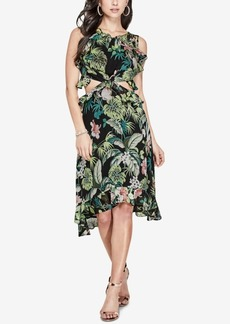 Guess Cutout High-Low Dress