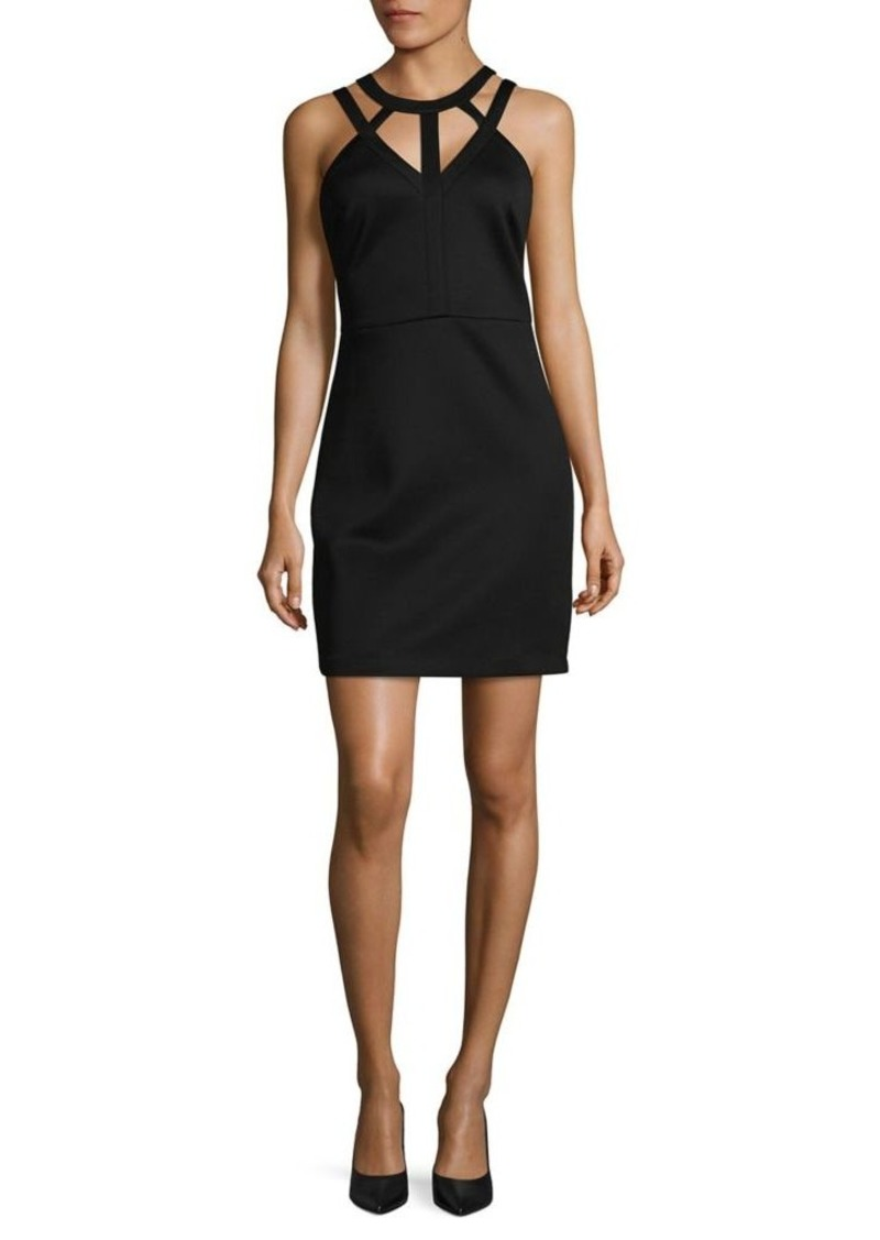 Guess Cutout Neck Dress
