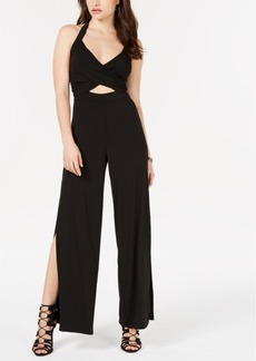 Guess Cutout Wide-Leg Jumpsuit