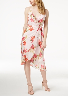 Guess Daydream Ruffled Wrap Dress