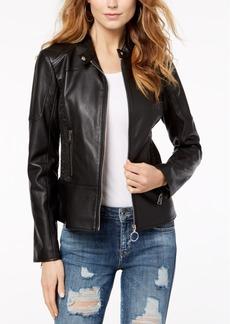 Guess Delaney Faux-Leather Biker Jacket