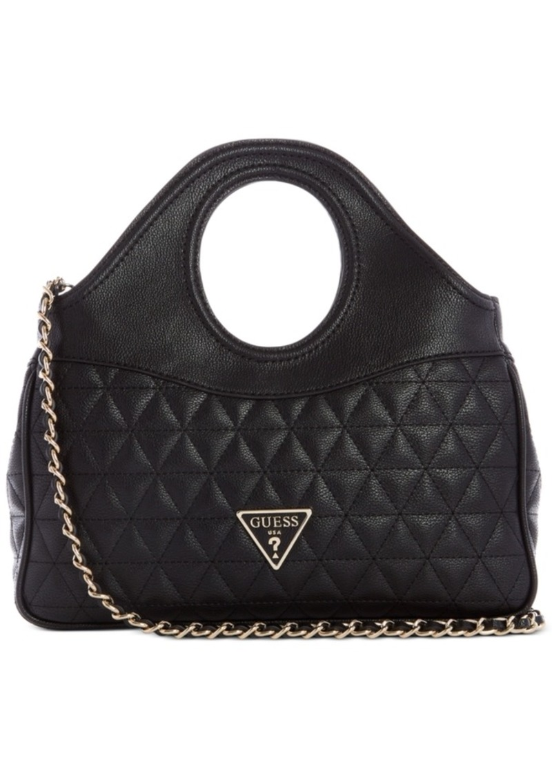 Guess Delon Quilted Shoulder Bag