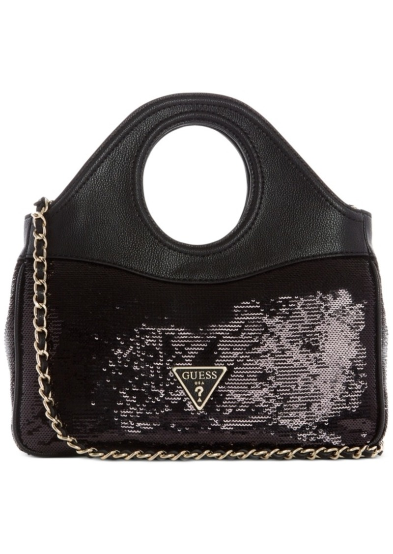 Guess Delon Sequin Shoulder Bag