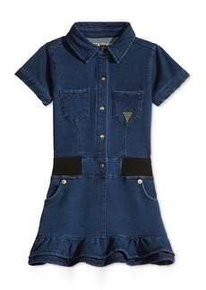 Guess' Denim-Look Dress, Little Girls