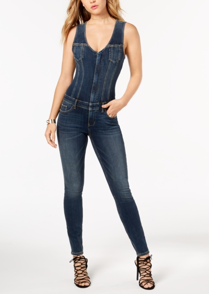 29de7020ac4 GUESS Guess Denim Sleeveless Jumpsuit