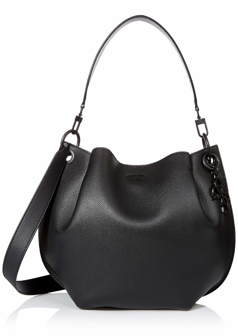GUESS Digital Matte Hobo black