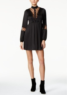 Guess Dita Lace-Trim Dress