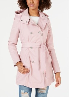 Guess Double-Breasted Belted Trench Coat