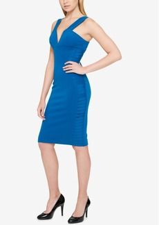 Guess Double-Strap Bodycon Dress