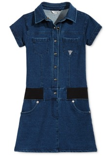 Guess Big Girls Drop-Waist Denim Dress