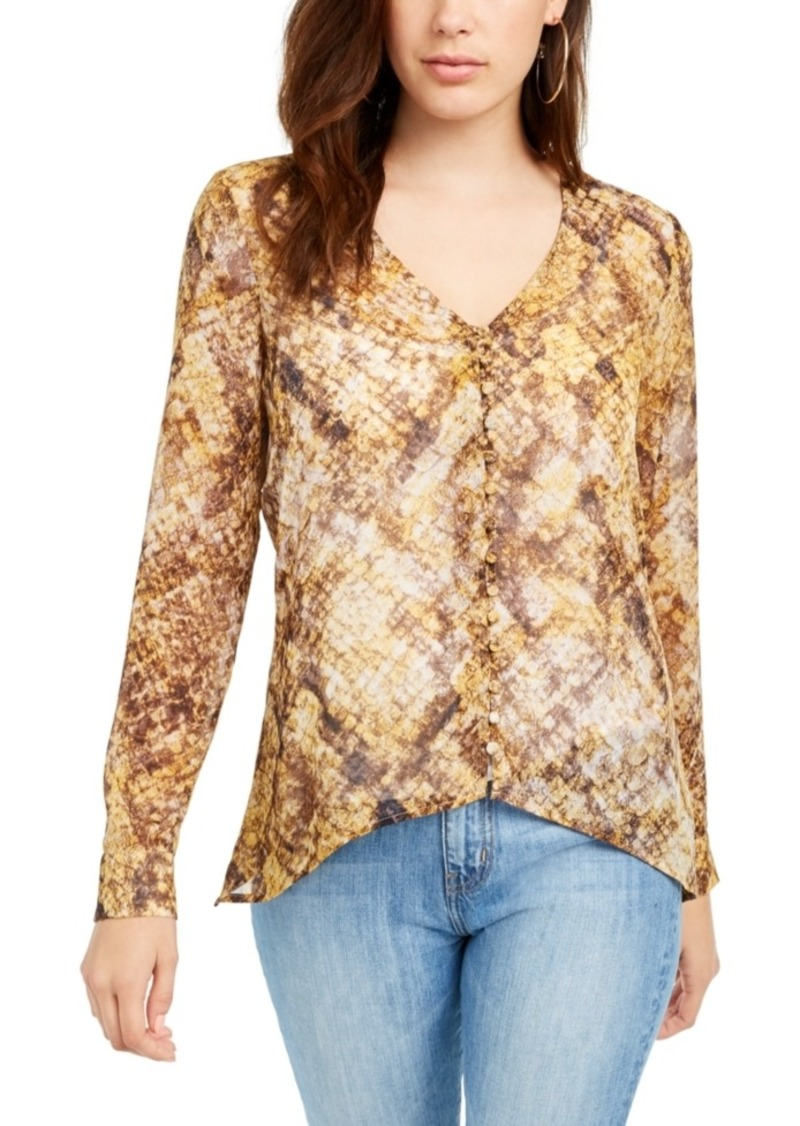 Guess Elesia Printed Blouse