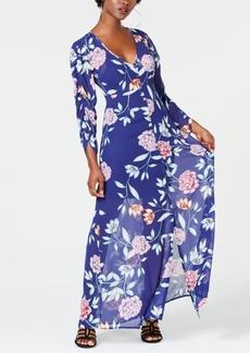 Guess Eliza Floral-Print Maxi Dress