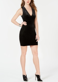 Guess Ella Velour Bodycon Dress