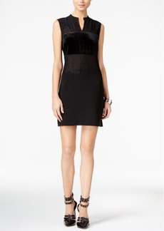 Guess Elora Lace Contrast Sheath Dress