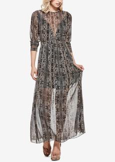 Guess Elsa Printed Maxi Dress