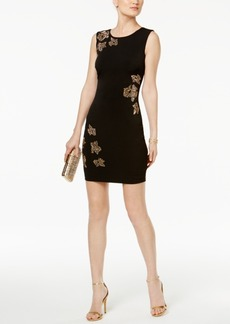 Guess Embellished Sheath Dress
