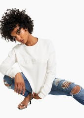 Guess Embroidered Logo Sweatshirt