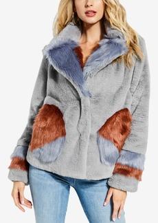 Guess Emily Faux-Fur Jacket