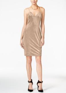 Guess Erika Velvet Sheath Dress