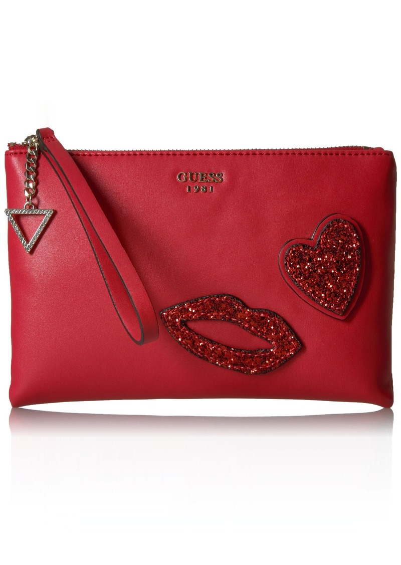 GUESS Ever After Crossbody Clutch