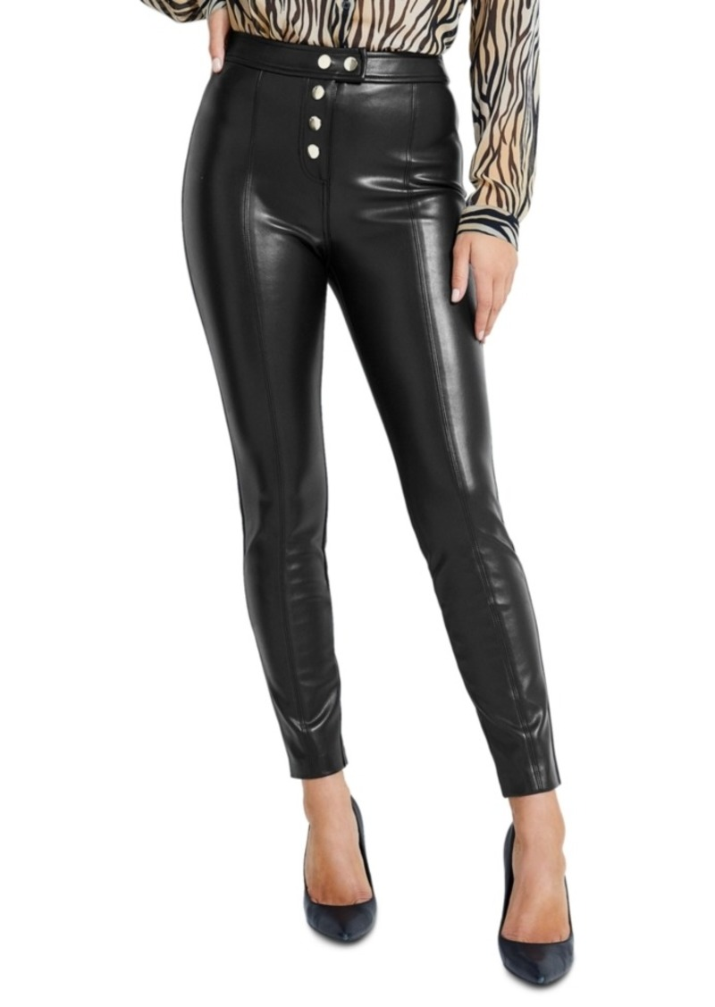 Guess Faux-Leather Pants