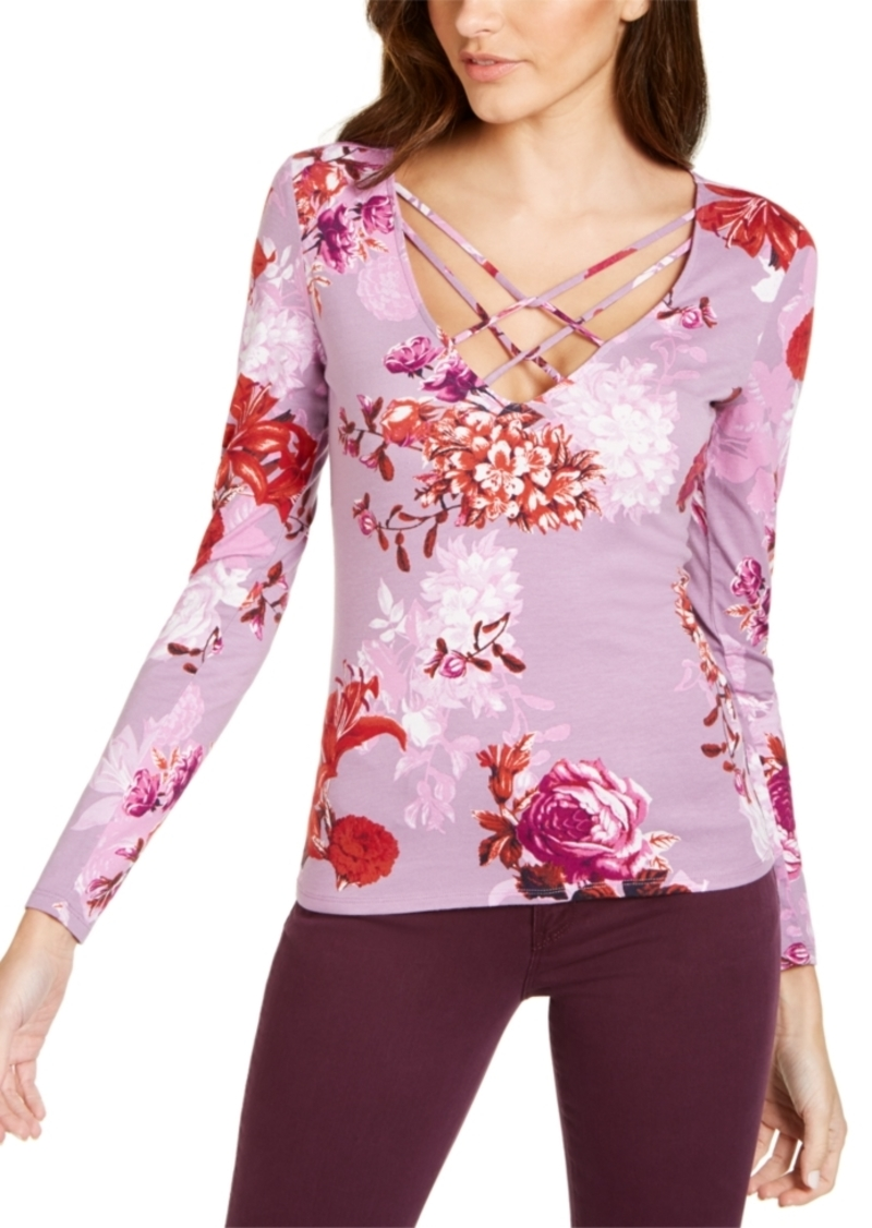 Guess Floral-Print Top