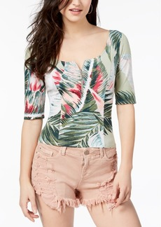 Guess Floral-Print Top, Created for Macy's