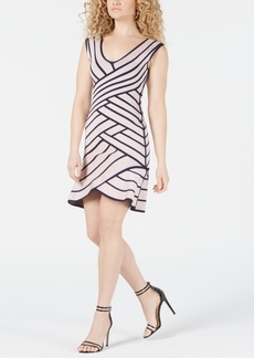 Guess Flounce Bandage Bodycon Dress