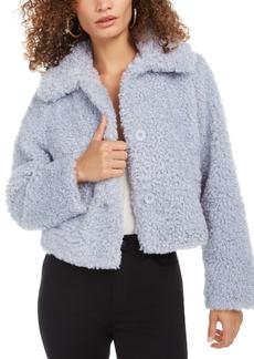 Guess Fuffly Faux-Fur Coat