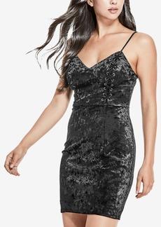 Guess Gennifer Velvet Slip Dress