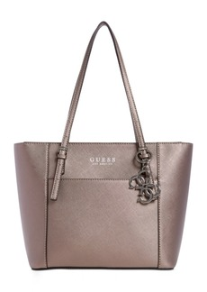 Guess Georgia Metallic Tote Bag