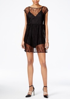 Guess Hailey Lace Romper Dress