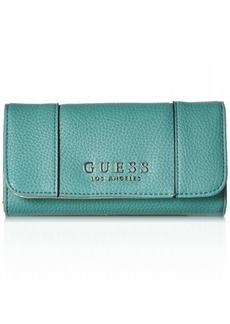 GUESS Heidi Turq Slim Clutch Wallet