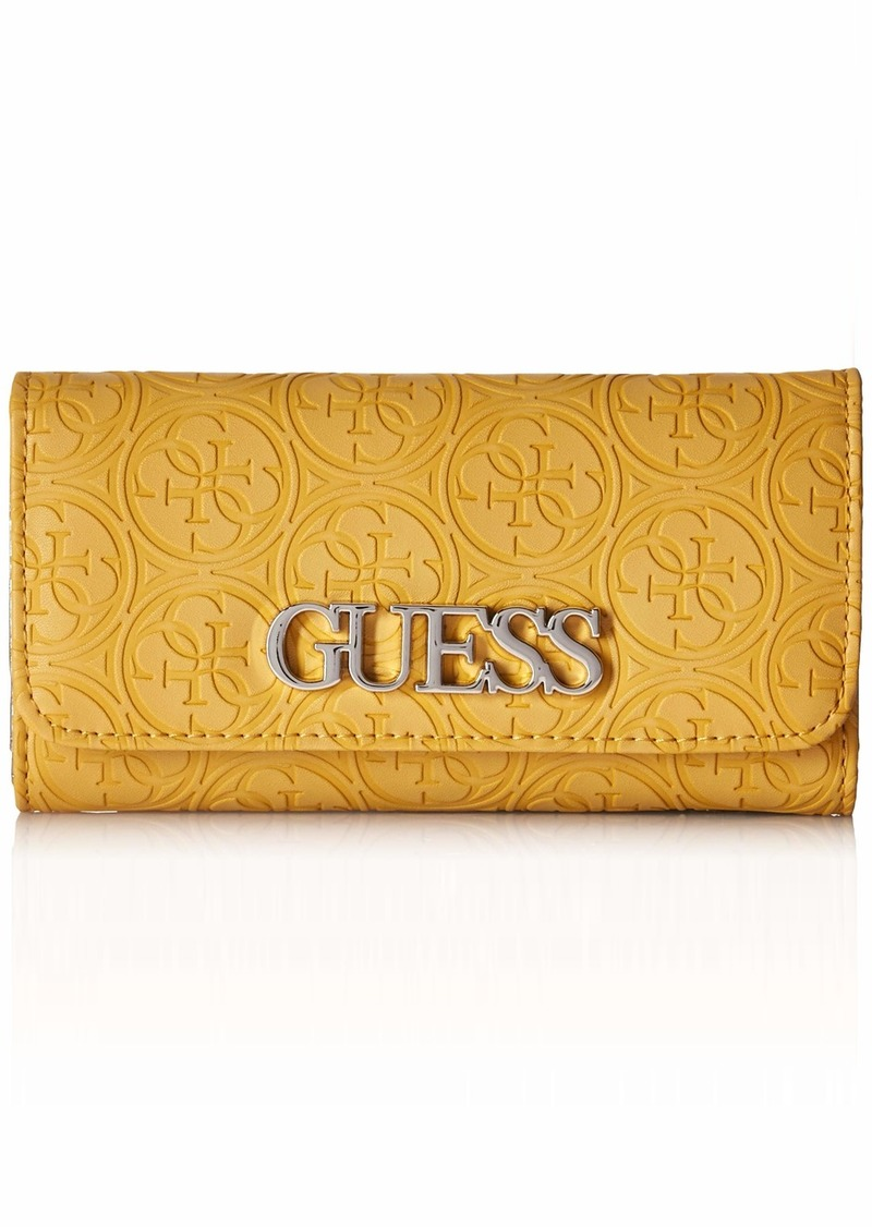 GUESS Heritage Slim Clutch Wallet