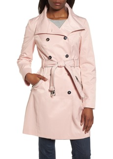 GUESS Hooded Piped Trench Coat
