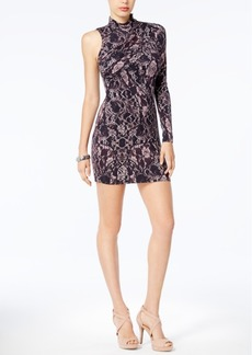 Guess Hope Printed One-Shoulder Dress
