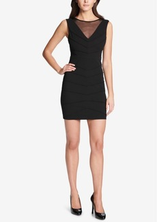 Guess Illusion Bodycon Dress