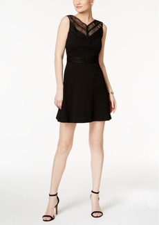 Guess Illusion Fit & Flare Dress