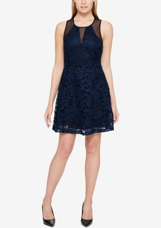 Guess Illusion Lace Dress