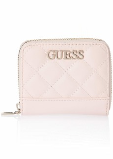 GUESS Illy Large Zip Around Wallet BLUSH