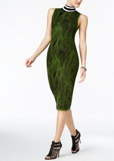 Guess Iris Jacquard Sweater Dress
