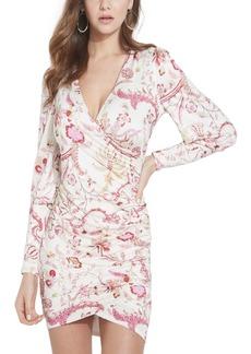 Guess Isidora Long-Sleeve Floral Dress