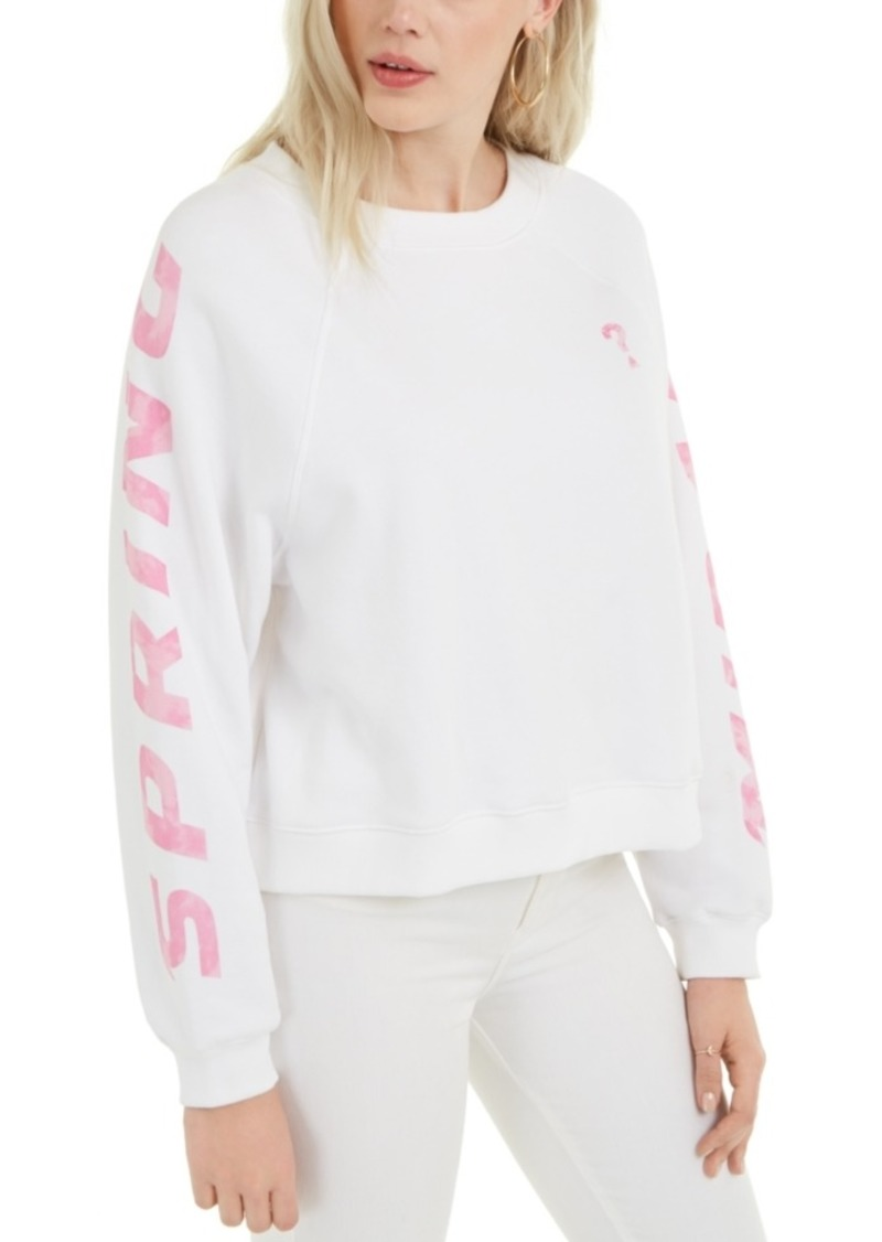 Guess Jana Fleece Graphic Sweatshirt