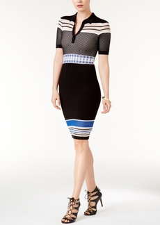 Guess Jaymes Contrast Sweater Dress